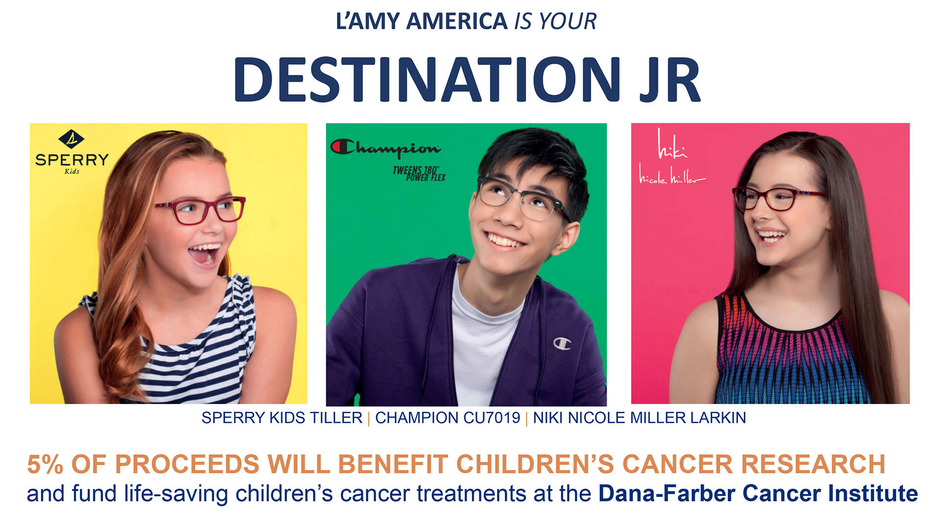 5% of proceeds will benefit children's cancer research and fund life-saving children's cancer treatments at the Dana-Farber Cancer Institute.